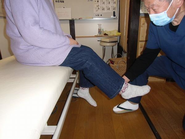 足の筋力検査